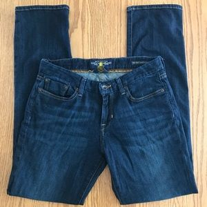 Lucky brand sweet jean straight size 4
